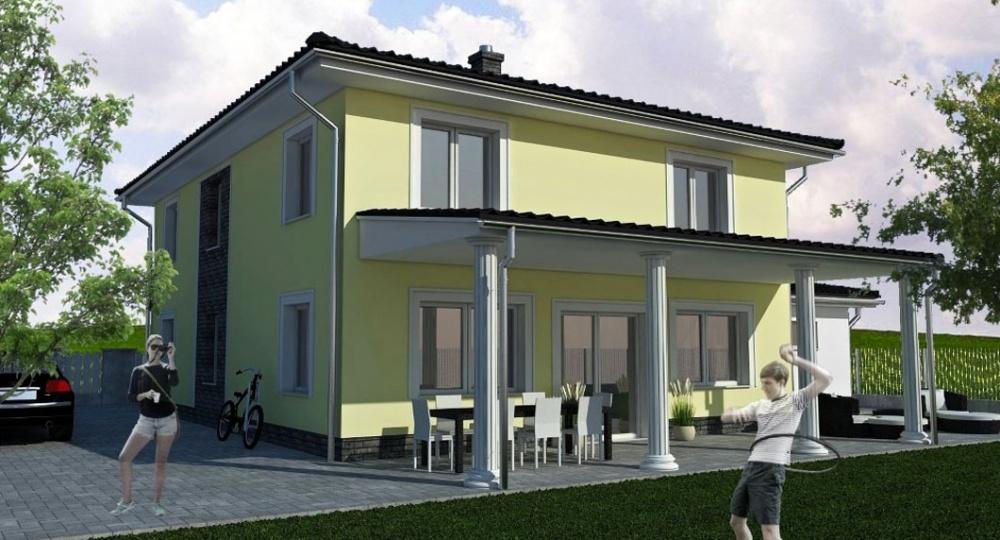 Einfamilienhaus petronell carnuntum 01 for Klassisches haus